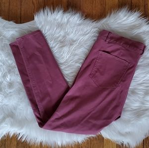 Lou & Grey | Dusty Rose Sateen Pants